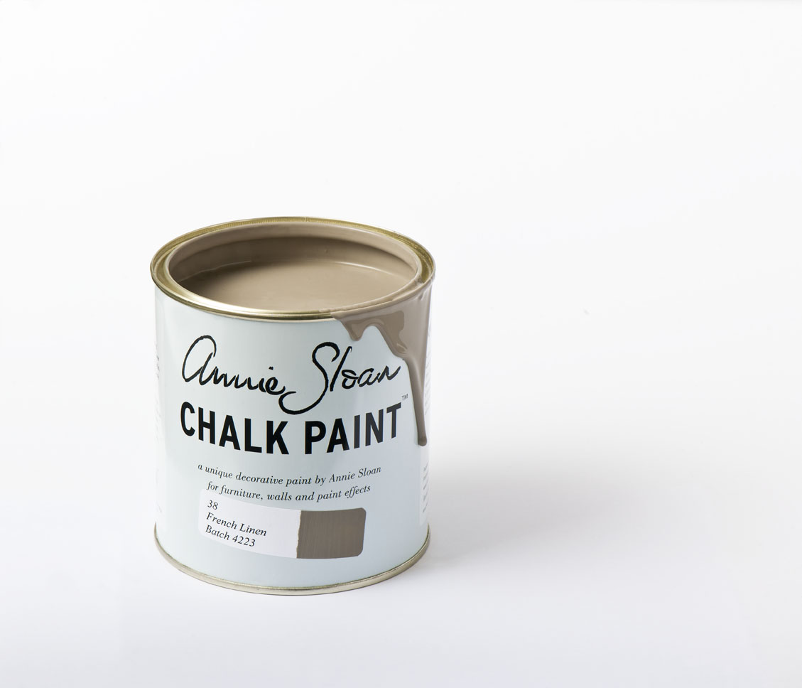 French Linen 1l Chalk Paint By Annie Sloan The Flower